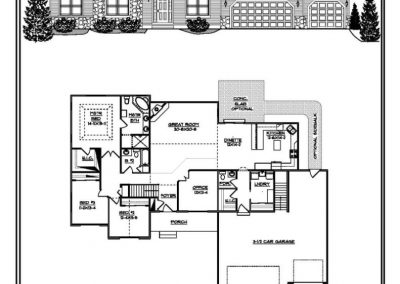 Christine Ranch 2,338 sq ft design