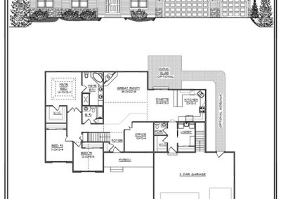 Christine I Ranch 2,198 sq ft design