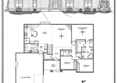 Countryside Ranch 2.038 sq ft design