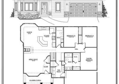 Freedom II Ranch 1,640 sq ft design