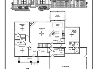 Liberty IV Ranch 2,060 sq ft design