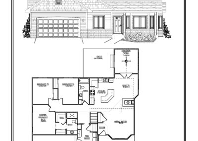 Freedom II Ranch 1,523 sq ft design
