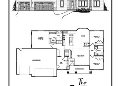 Freedom III Ranch 1,730 sq ft design